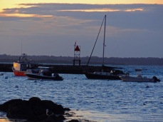 Sunset at Sakonnet Point, RI