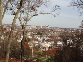 Providence RI as seen from Neutaconkanut Hill