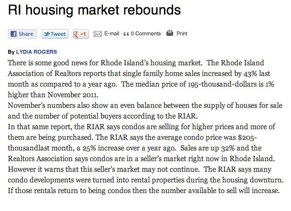 Housing Rebound