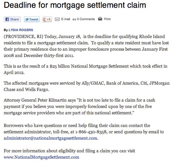MortgageDeadline