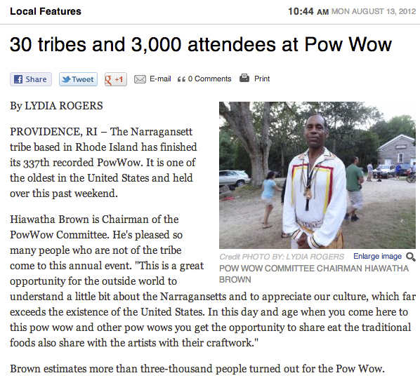 30 Tribes and 3,000 attendees at Pow Wow