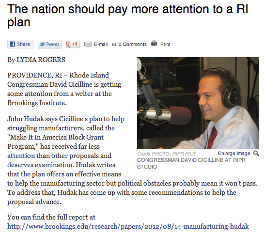 The Nation Should Pay More Attention to a RI Plan