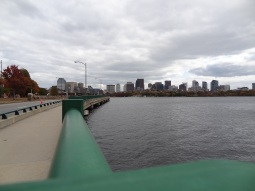 Boston as seen from Cambridge across the Charles River
