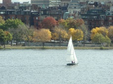 Boaters on the Charles River