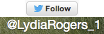Twitter Account for Lydia Rogers