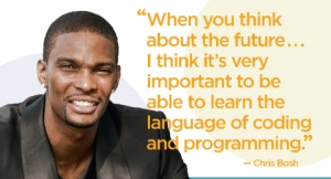 Hour Of Code Chris Bosh